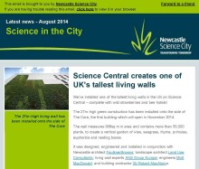 Science in the City - August