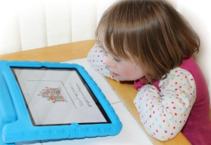 Maya using the Special Stories app
